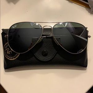 Ray-Ban Aviator Reflective Sunglasses